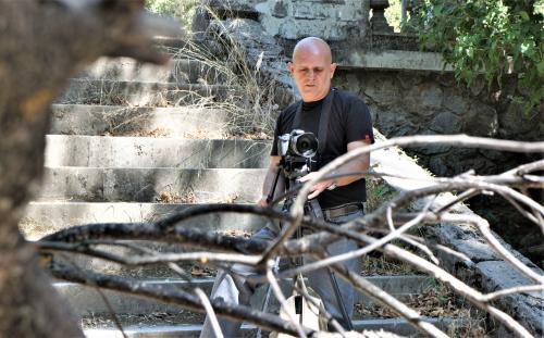Φωτογράφιση στα Θερινά ανάκτορα στο Τατόι