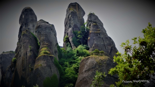 Βράχοι Μετέωρα